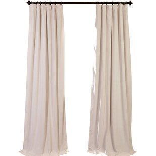 Modern Ivory Cream Curtains Drapes Allmodern