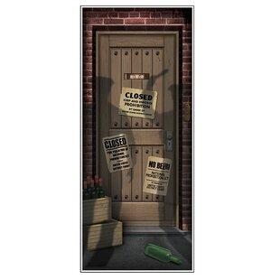 Speakeasy Door Cover Wall Decor