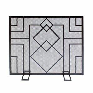 Iron Fireplace Screens fireplace screens you'll love   wayfair