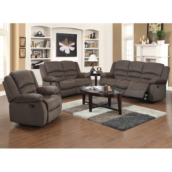 red barrel studio maxine 3 piece living room set reviews wayfair. Black Bedroom Furniture Sets. Home Design Ideas