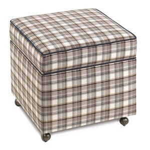 Ryder Storage Boxed Ottoman by Eastern Accents