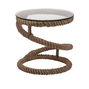 Bedford Jute Rope End Table by IMAX