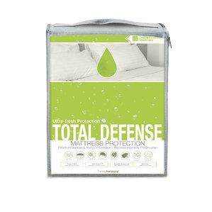 Total Defense Hypoallergenic Waterproof Mattress Protector by Glideaway