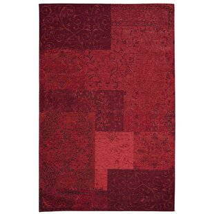 Antika Red Area Rug by Devos Caby