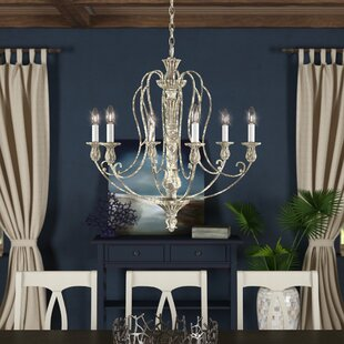 Dov 6 Light Candle Style Chandelier