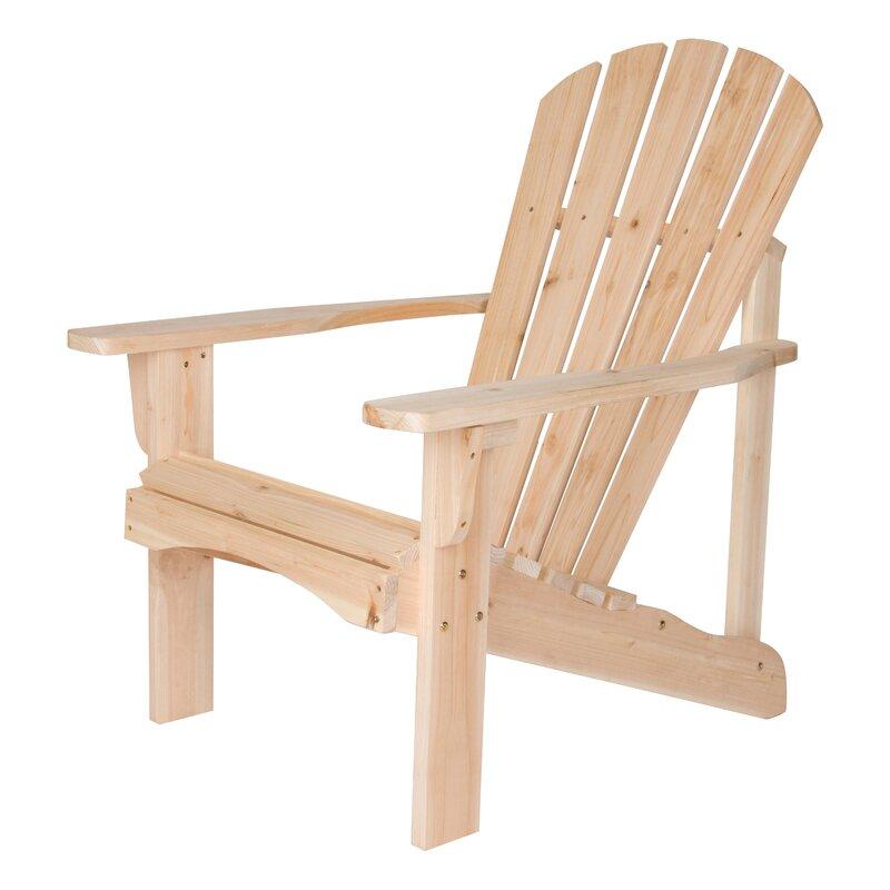 Biddeford Solid Wood Adirondack Chair