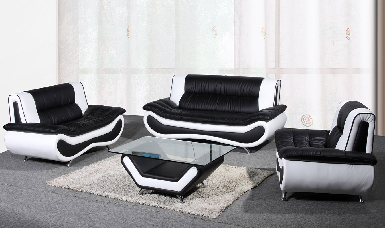 Beverly Fine Furniture Lena Configurable Living Room Set & Reviews ...