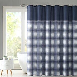 Krawczyk Plaid Shower Curtain Set