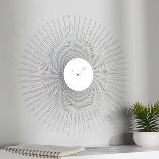 17 Sunburst Wall Clock