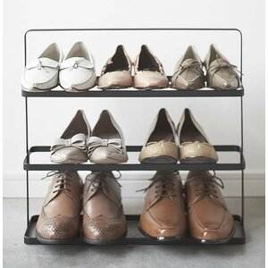Tower 3-Tier 9 Pair Shoe Rack