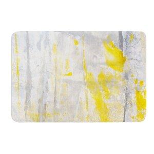 Abstraction by CarolLynn Tice Bath Mat