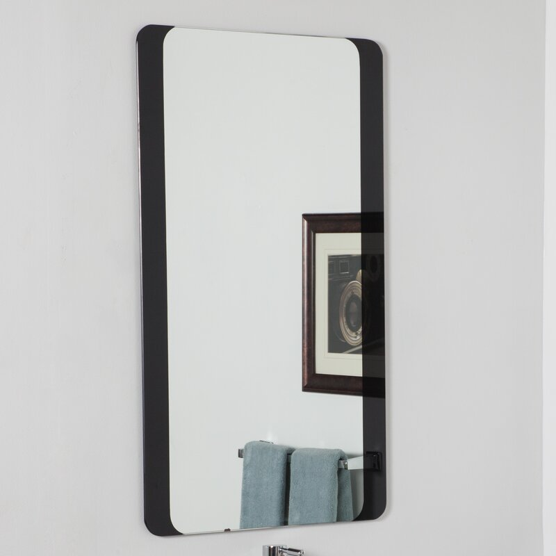 Large Wall Mirror decor wonderland large wall mirror & reviews | wayfair