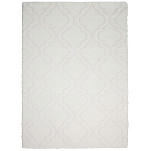Find Hand-Tufted White Area Rug By Kathy Ireland Home