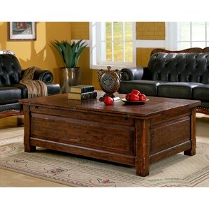 Burgundy Coffee Table by Eastern Legends