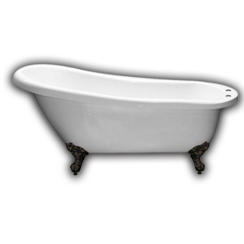 Cambridge Plumbing 61 Quot X 28 Quot Clawfoot Soaking Bathtub