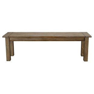 Elland Driftwood Wood Bench