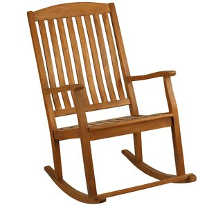 Peninsula Rocking Chair by Rosecliff Heights