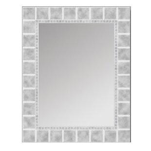 stylist and luxury bathroom vanities and tops. Glass Block Bathroom Vanity Mirror Frameless Mirrors You ll Love  Wayfair