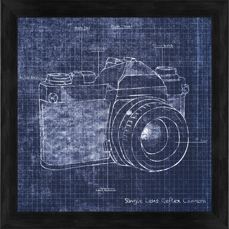 Ptm images camera blueprint i gicle framed graphic art reviews camera blueprint i gicle framed graphic art malvernweather Images