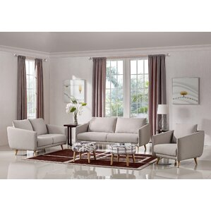 furniture living room set. Alivia 3 Piece Living Room Set Modern Sets  AllModern