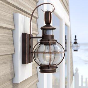 Phillip 7″ 1-Light Outdoor Wall Lantern