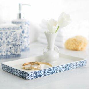 vanity trays you ll love wayfair rh wayfair com Gray Vanity Tray Brass Trays for Antique Bathroom Vanity