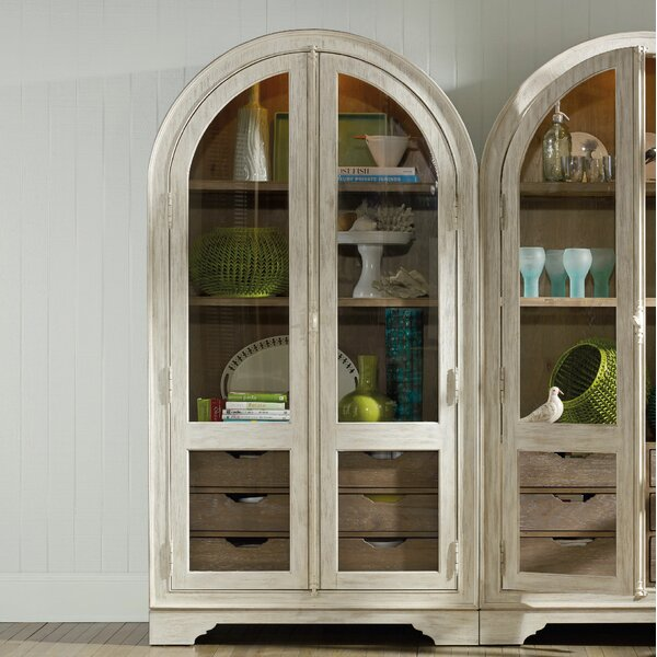 Sweet-Tempered Pair Antique Wood Corner Wall Cupboards Bevelled Oval Mirror For Restoration