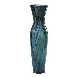 Kabir Peacock Feather Trumpet Vase