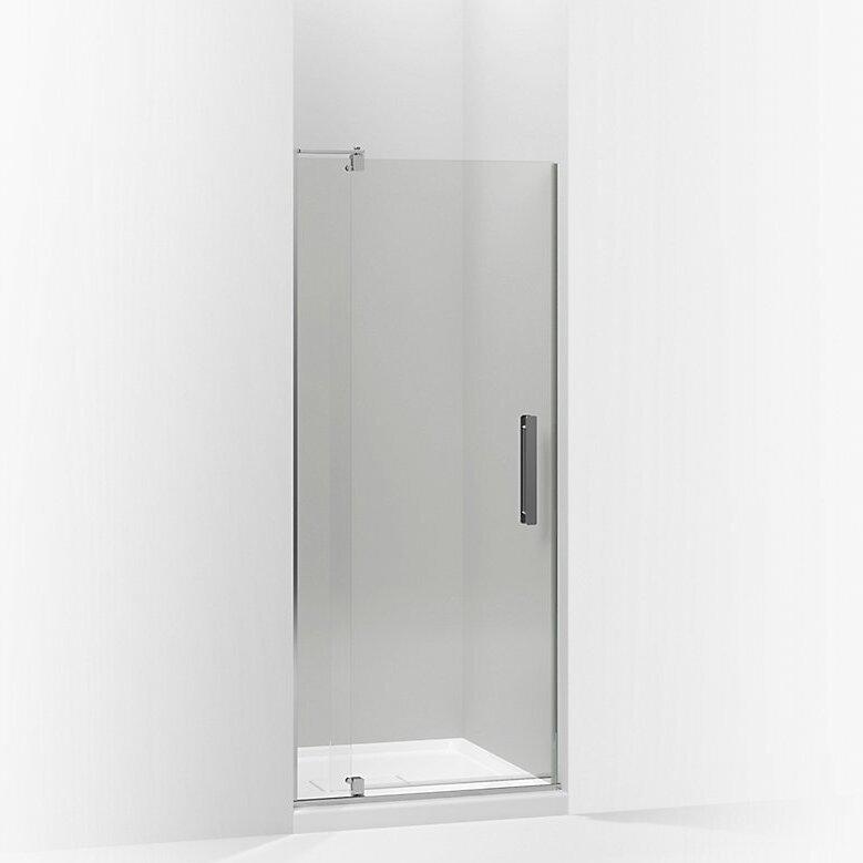 Kohler Revel 27.25'' x 70'' Pivot Shower Door & Reviews | Wayfair