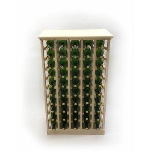 50 Bottle Floor Wine Bottle Rack