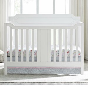 elinor 2in1 convertible crib - White Baby Crib