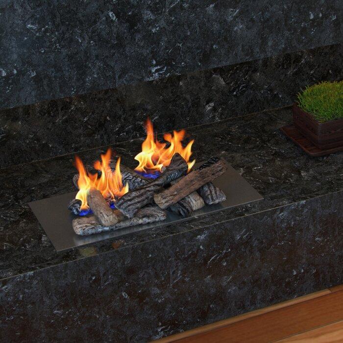 Regalflame Propane Gel Ethanol Or Gas Fireplace Decorative Logs