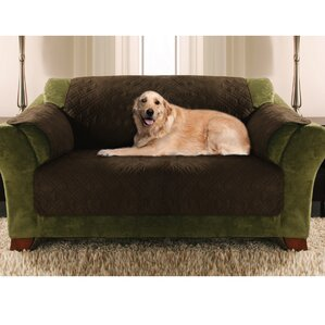 Double Diamond Box Cushion Sofa Slipcover by Yes Pets