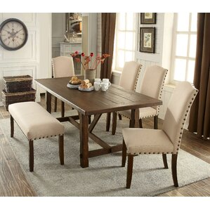 Holly Hills 6 Piece Dining Set by Loon Peak