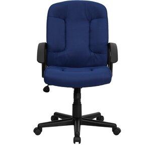 Navy Blue Velvet Desk Chair | Wayfair