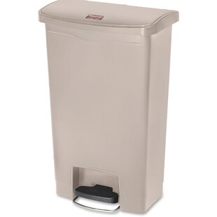 Etonnant Slim Jim 13 Gallon Step On Trash Can
