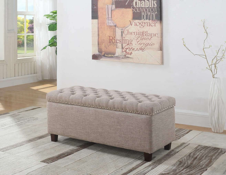Superb Luper Tufted Storage Ottoman Squirreltailoven Fun Painted Chair Ideas Images Squirreltailovenorg
