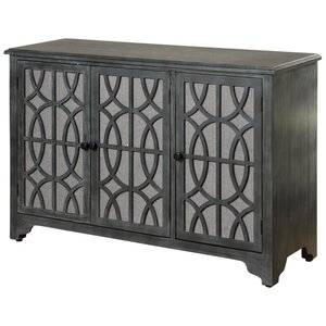 Burgoyne 3 Door Accent Cabinet