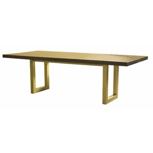 Cisbrough Burnished Extendable Solid Wood Dining Table
