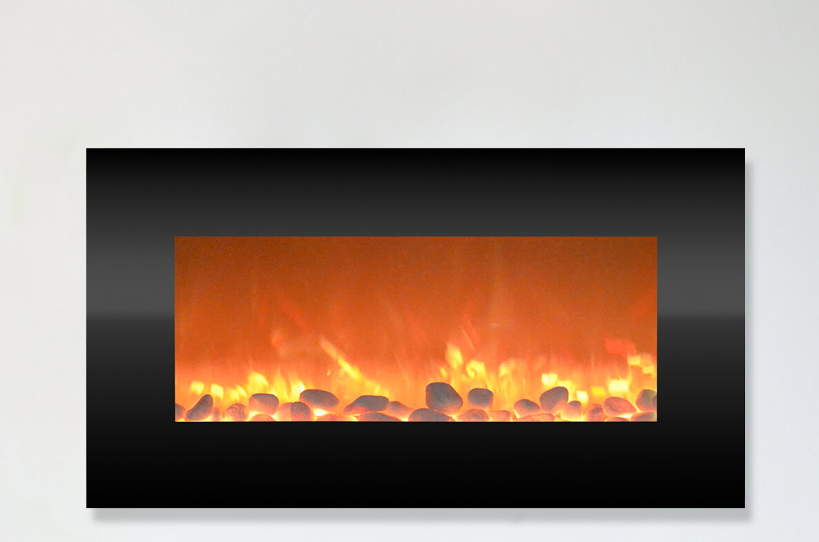 Magnificent Hyler Wall Mounted Electric Fireplace Interior Design Ideas Gentotryabchikinfo