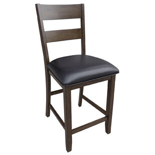 Incroyable Alder Ladderback Upholstered Dining Chair