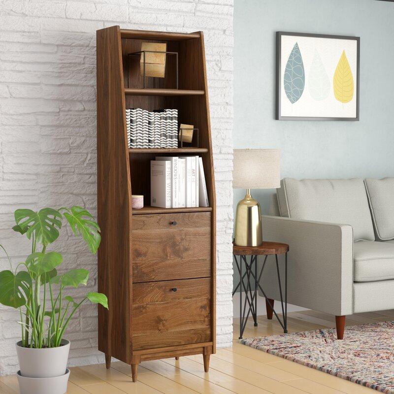 Gamma Narrow Standard Bookcase