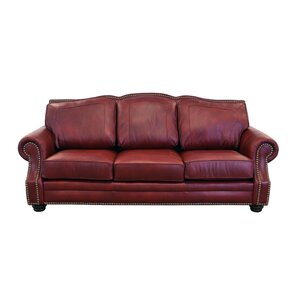 Winchester Leather Sofa by Westland and Birch