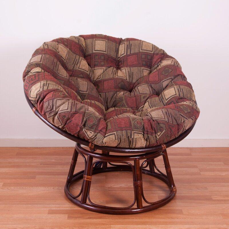 blazing needles chenille papasan chair cushion reviews wayfair. Black Bedroom Furniture Sets. Home Design Ideas