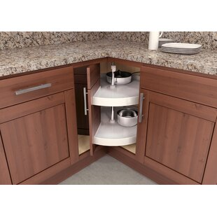 Dedicated Unique Design 360-degree Solid Color Pantry Cabinet Turntable 2-tier Kitchen Bathroom Accessories Organize Your Messy Space Home Improvement Bathroom Fixtures