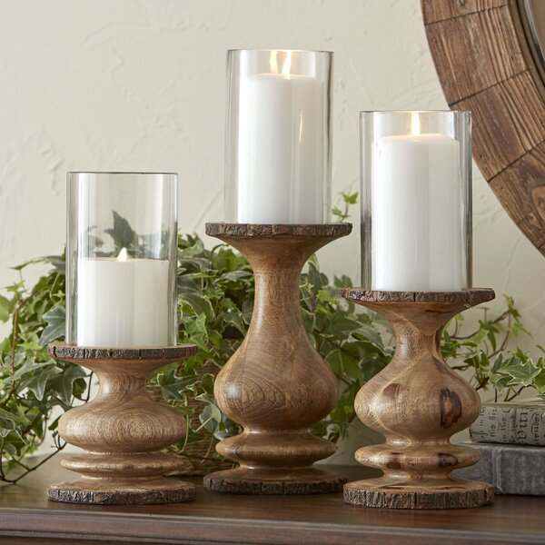 Bradley 3 Piece Candleholder Set Amp Reviews Joss Amp Main