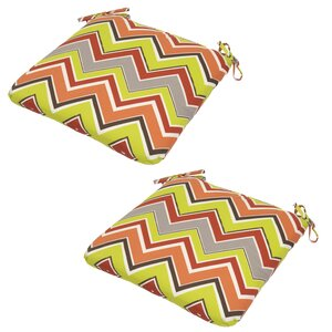 Bembry Outdoor Dining Chair Cushion (Set of 2)
