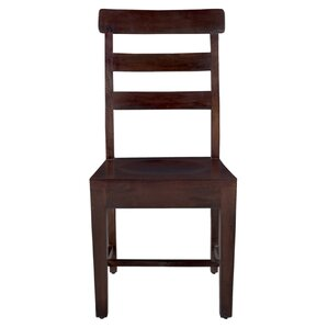 Maliyah Solid Wood Dining Chair (Set of 2) by Longshore Tides