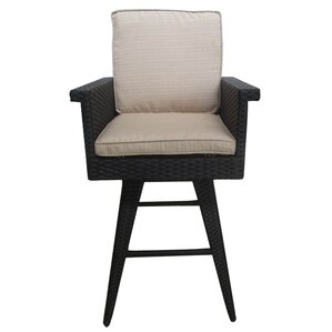 Sprouse Outdoor Wicker Barstools by Brayd..