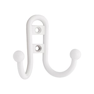 Wall Mounted Decorative Double Robe Hook